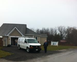 2012 Build site Keswick Ontario
